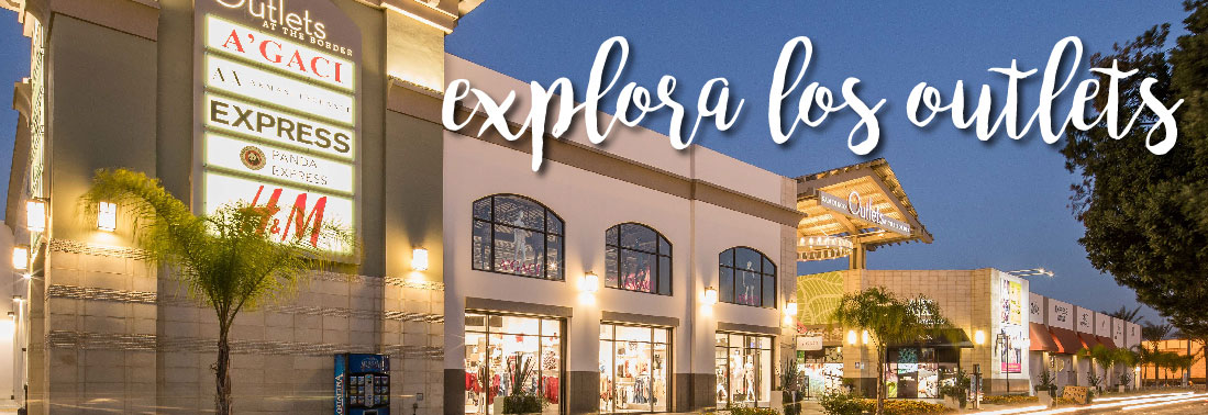 Explora los Outlets