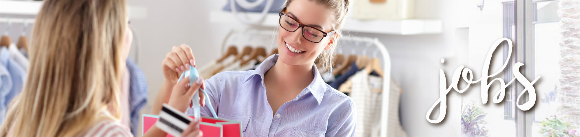 Jobs / Woman working in store