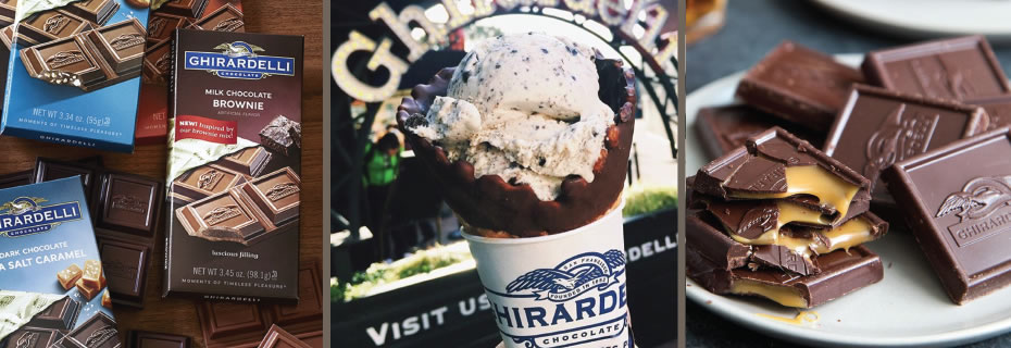 Ghirardelli Chocolate and Ice Cream